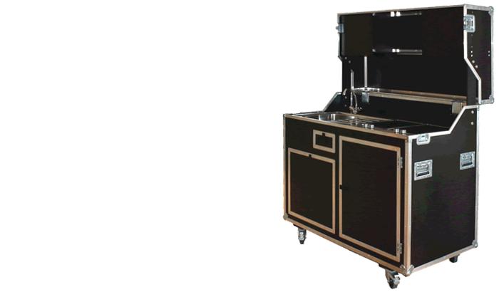 kitcase mobile messe schrank koffer k chen kaufen und mieten kitcase mobile messe. Black Bedroom Furniture Sets. Home Design Ideas